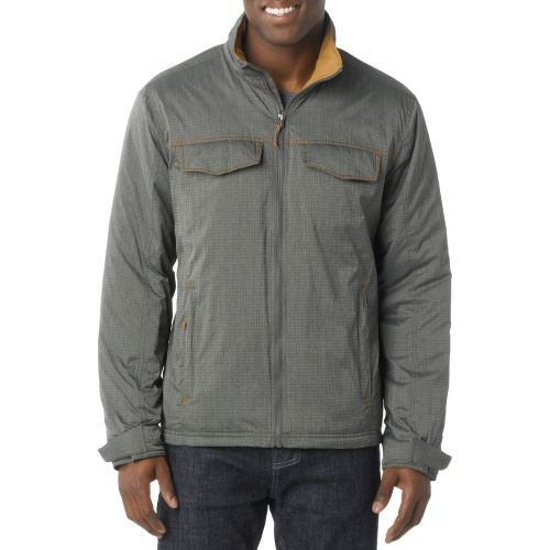 Mens Prana Bannon Outerwear Jackets - Cargo Green XXL