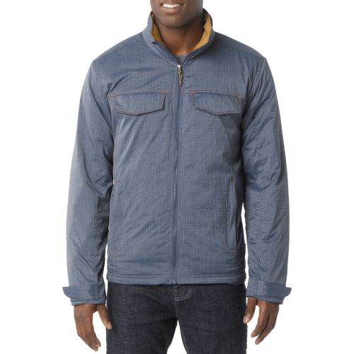 Mens Prana Bannon Outerwear Jackets - Dusk Blue XL