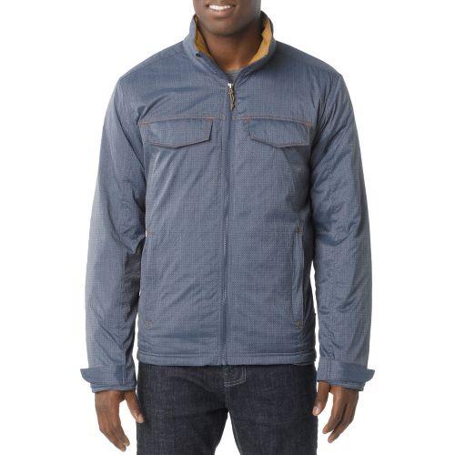 Mens Prana Bannon Outerwear Jackets - Dusk Blue XXL