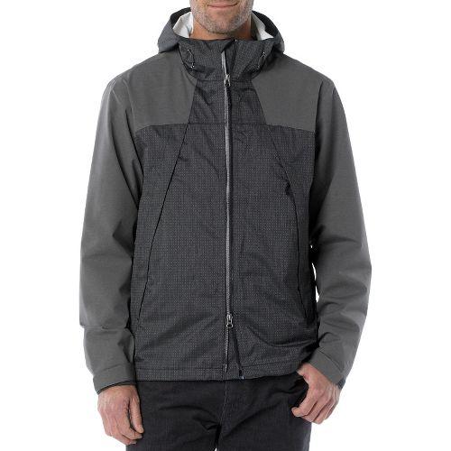 Mens Prana Inception Outerwear Jackets - Black L