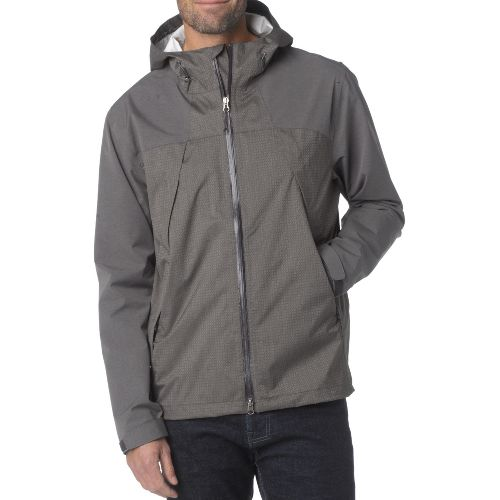 Mens Prana Inception Outerwear Jackets - Cargo Green S