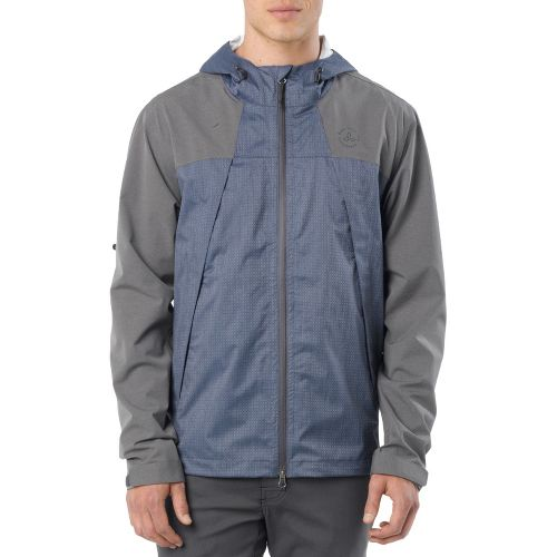 Mens Prana Inception Outerwear Jackets - Dusk Blue L