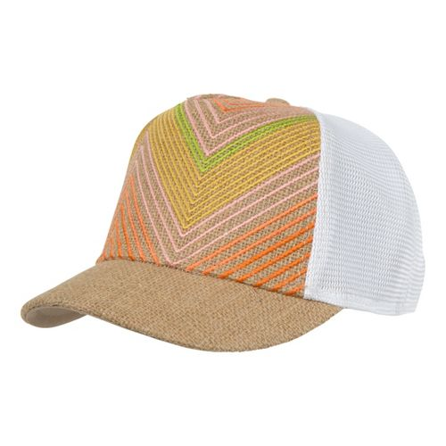 Prana Miss Dixie Trucker Hat Headwear - Natural
