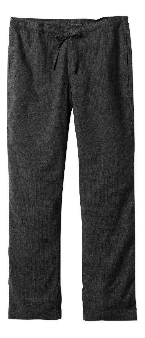 Mens prAna Sutra Pants - Black Herringbone XS-T