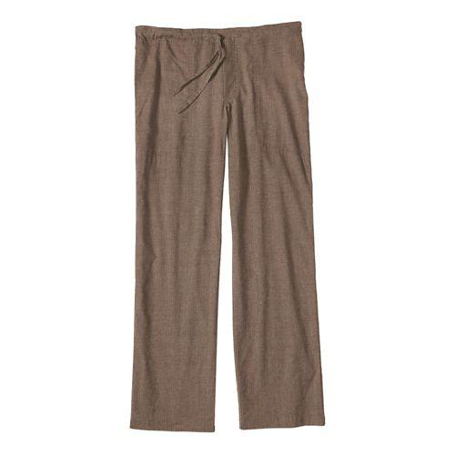 Mens prAna Sutra Pants - Brown Herringbone XL-S