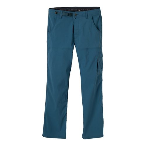 Mens Prana Stretch Zion Full Length Pants - Blue Jean MT