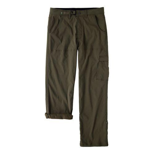 Mens Prana Stretch Zion Full Length Pants - Cargo Green XSS