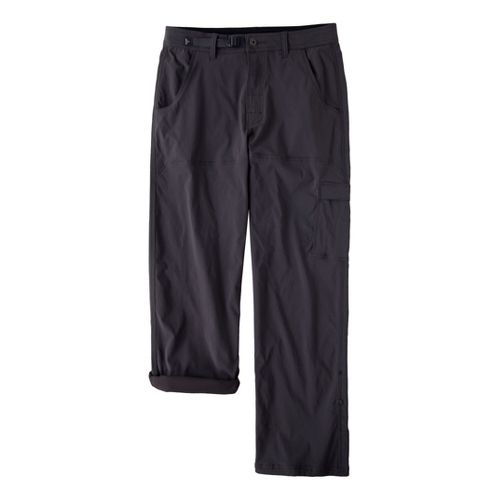 Mens Prana Stretch Zion Full Length Pants - Charcoal LT