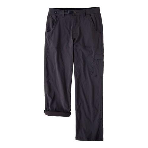 Mens Prana Stretch Zion Full Length Pants - Charcoal MT