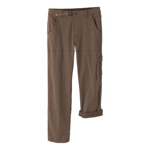 Mens Prana Stretch Zion Full Length Pants - Mud XLT