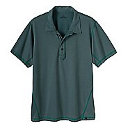 Mens Prana Crux Polo Short Sleeve Technical Tops