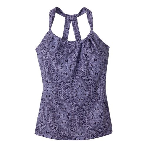 Womens Prana Quinn Tanks Technical Tops - Lupine Kaleidoscope XL