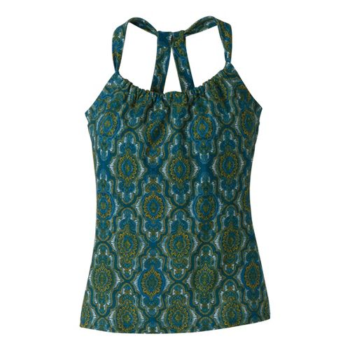 Womens Prana Quinn Tanks Technical Tops - Mystic Casbah M