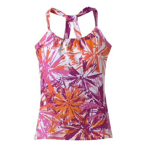 Womens Prana Quinn Tanks Technical Tops - Orchid Burst L