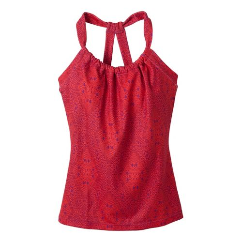 Womens Prana Quinn Tanks Technical Tops - Poppy Kaleidoscope L