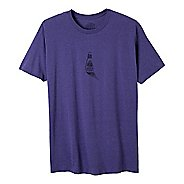 Mens Prana 3rd Eye Short Sleeve Non-Technical Tops