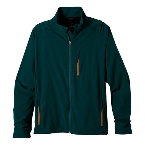 Mens Prana Conrad Outerwear Jackets - Deep Teal S