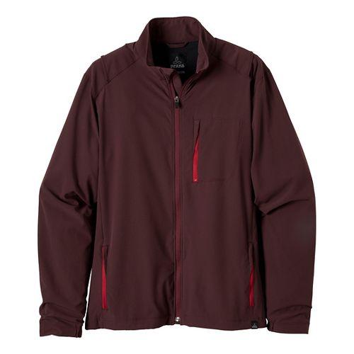 Mens Prana Conrad Outerwear Jackets - Rich Cocoa S