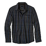 Mens Prana Felix Flannel Long Sleeve Non-Technical Tops