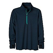 Mens Prana Gavin Long Sleeve 1/2 Zip Technical Tops