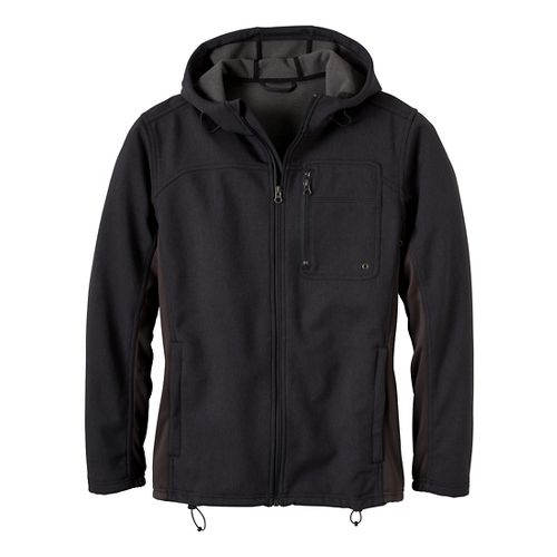 Mens Prana Jamison Outerwear Jackets - Charcoal S