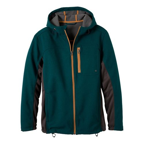 Mens Prana Jamison Outerwear Jackets - Deep Teal XL