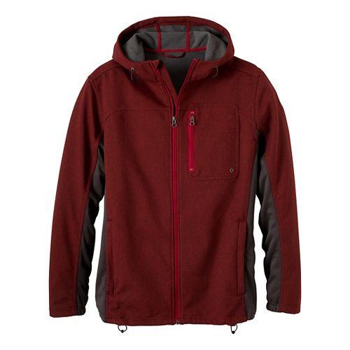 Mens Prana Jamison Outerwear Jackets - Rich Cocoa XXL