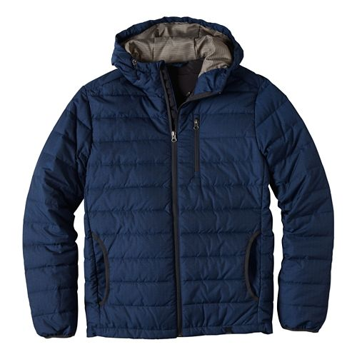 Mens prAna Lasser Cold Weather Jackets - Dress Blue S