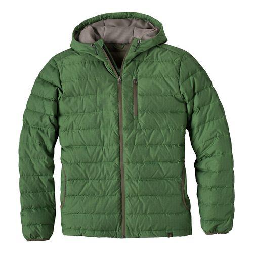 Mens Prana Lasser Outerwear Jackets - Deep Jade XL
