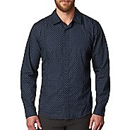 Mens prAna Lukas Slim Long Sleeve Non-Technical Tops