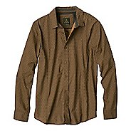 Mens prAna Lukas Long Sleeve Non-Technical Tops
