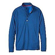 Mens prAna Orion 1/4 Zip Hoodie & Sweatshirts Technical Tops