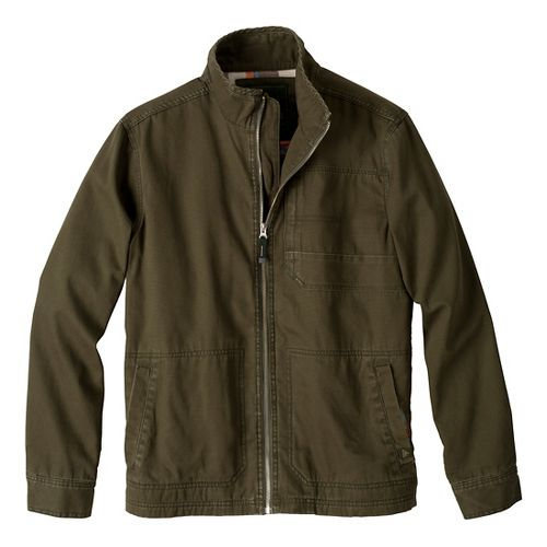 Mens Prana Rawkus Outerwear Jackets - Cargo Green S