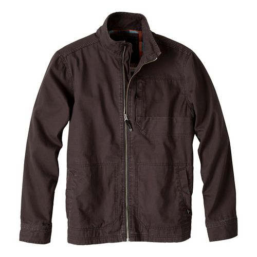 Mens Prana Rawkus Outerwear Jackets - Charcoal L