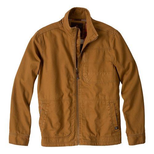 Mens Prana Rawkus Outerwear Jackets - Dark Ginger M