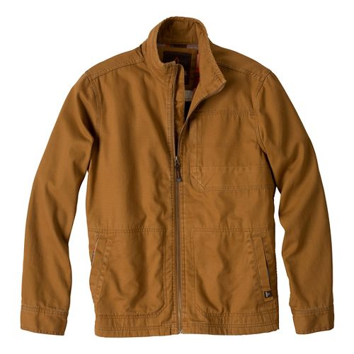 Mens Prana Rawkus Outerwear Jackets - Dark Ginger XL