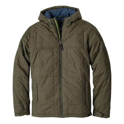 Mens Prana Redmond Outerwear Jackets - Cargo Green L
