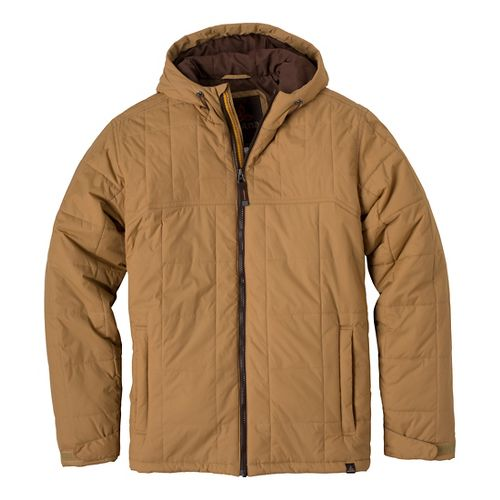 Mens Prana Redmond Outerwear Jackets - Light Ginger S