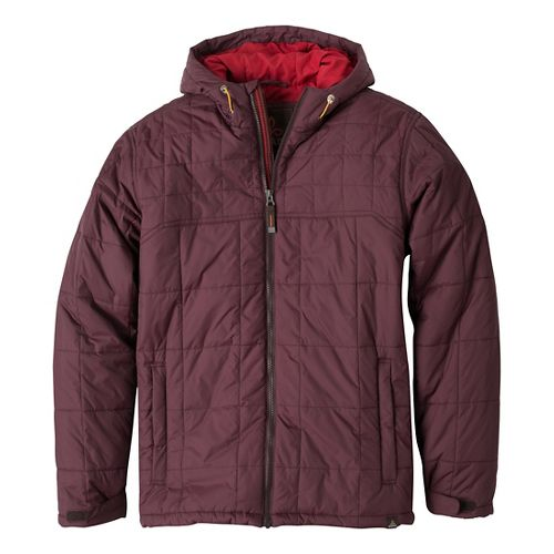 Mens Prana Redmond Outerwear Jackets - Mahogany L