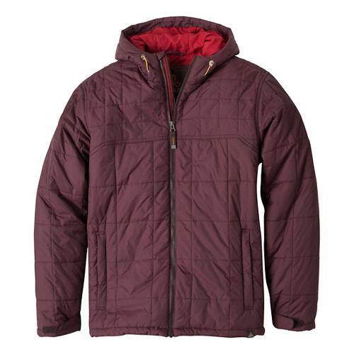 Mens Prana Redmond Outerwear Jackets - Mahogany S