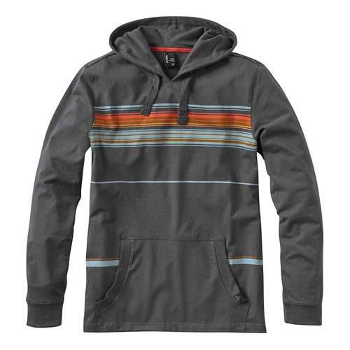 Mens prAna Setu Half-Zips & Hoodies Non-Technical Tops - Grey L