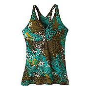 Womens Prana Sabin Racer Tanks Technical Tops