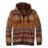 Mens Prana Tollak Full Zip Warm-Up Unhooded Jackets