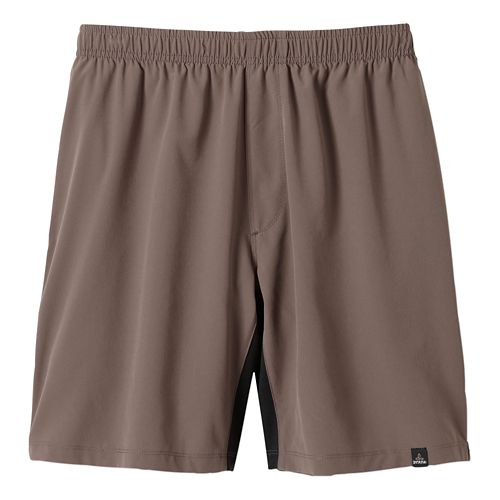 Mens Prana Logan Unlined Shorts - Mud L