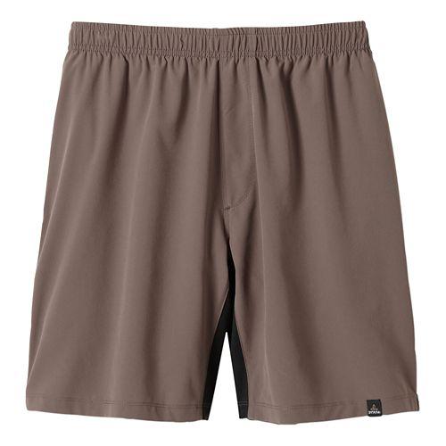 Mens Prana Logan Unlined Shorts - Mud S