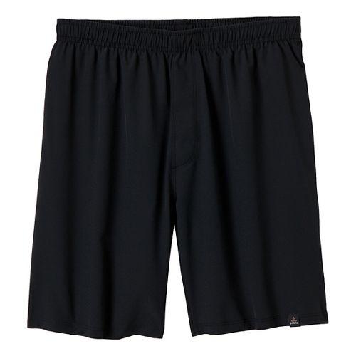 Mens Prana Logan Unlined Shorts - Black XL