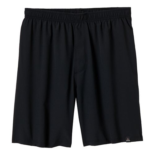 Mens Prana Logan Unlined Shorts - Black XXL