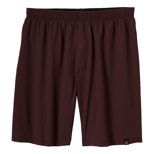Mens Prana Logan Unlined Shorts - Rich Cocoa XXL