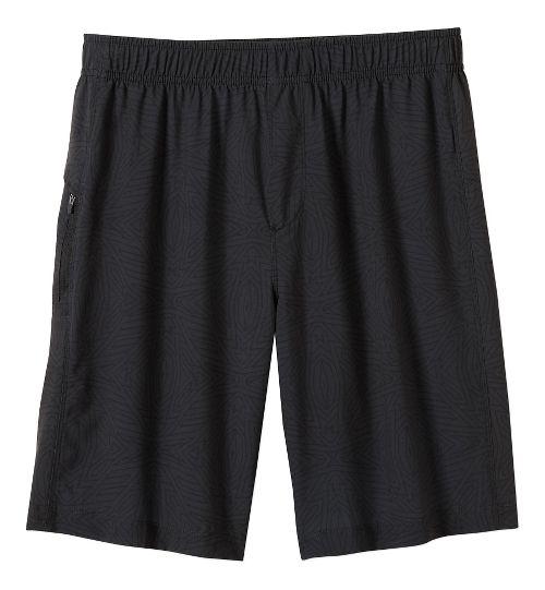 Mens prAna Vargas Unlined Shorts - Charcoal Jupiter S