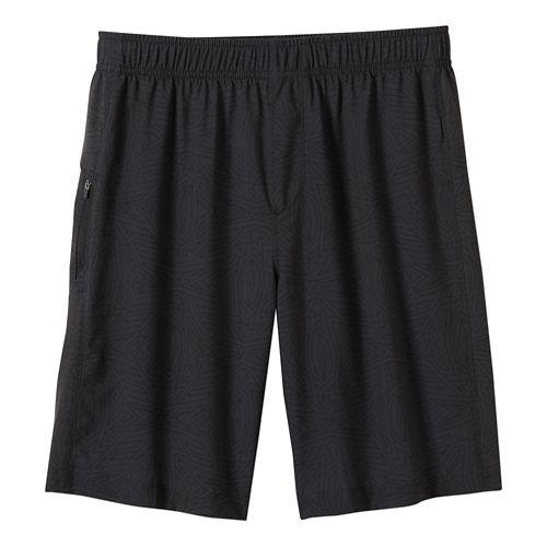 Mens prAna Vargas Unlined Shorts - Charcoal Jupiter L